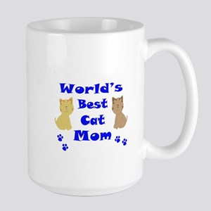 World's Best Cat Mom Mugs